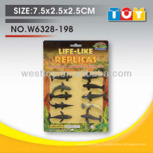 wholesale shantou animal model toys rubber whale for kids