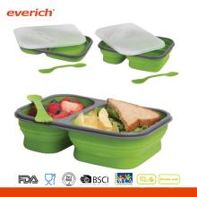 Новый дизайн Оптовый BPA Free Plastic Food Container Sweat-proof Bento Box