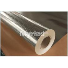 Película de poliéster metalizado / mylar reflectante, aislamiento térmico de aluminio de alta calidad de aluminio reflectante