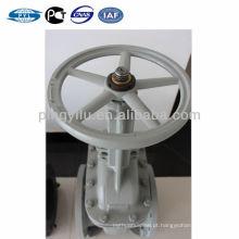 Carbono de aço libra gost válvula de portão tipo flange oleoduto usado
