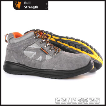 Ankle Suede Leather Safety Shoe with Steel Toe&Midsole (SN5380)