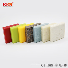 Superfície contínua artificial modificada preço da resina acrílica de fábrica