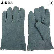 Изделия для обеспечения безопасности труда коровьей кожи Сварочные рабочие перчатки (L002)