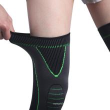 Wholesale Unisex Knitted Nylon Sports Knee Pads Leg Protection Basketball Football Mountain Climbing Warm Knee Pads
