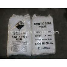 Soude caustique ou flocons d'hydroxyde de sodium 99%