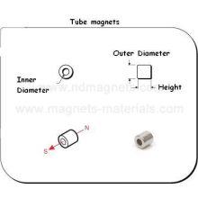 Röhrenmagnete mit Ni-Beschichtung