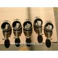 Al-Бронза C95400 C95800 вафельные Тип Клапан-Бабочка (D71X-10/16)