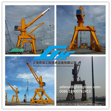 Quayside Mobile Hydraulic Portal Crane
