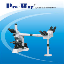Professional Multi-Viewing Biological Microscope with Three Viewing Heads (N-PW306)