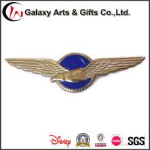 3Д логотип значок pin отворотом эмали для Орла