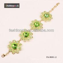 2013 nouvelle arrivée grand cercle diamant cristal bracelets bangles FA-B001