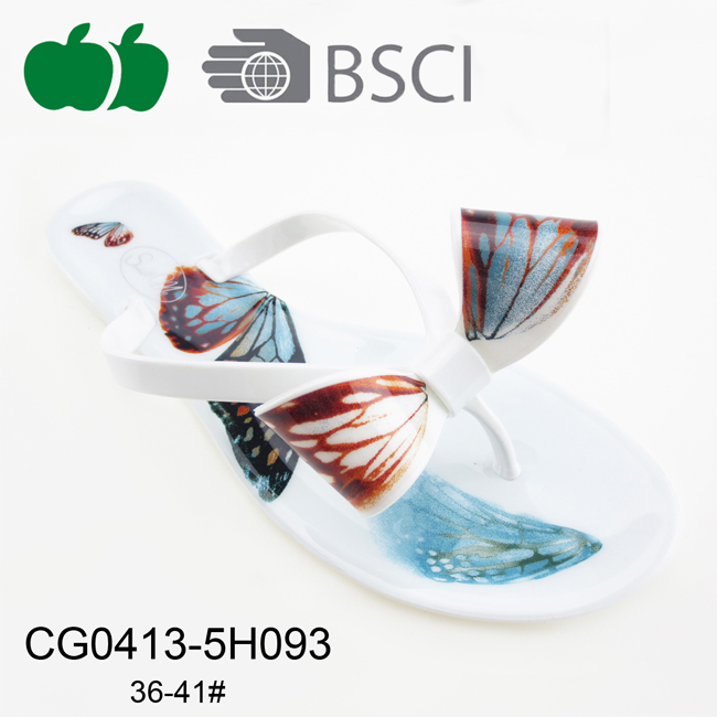 summer fashion pvc flip flop