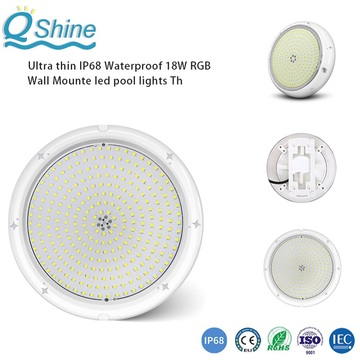 Ultra Thin 24mm Thickness Underwater LED Pool Light