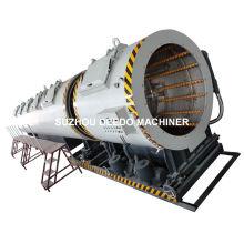 Machine de réservoir de refroidissement de calibrage de vide en plastique de tuyau