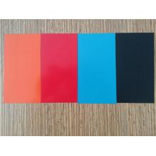 Revestimiento de color rojo Bobina de aluminio de alto brillo