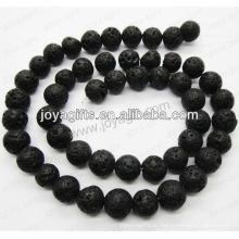 Вулканический камень круглый бусины / 4 мм / 6 мм / 8 мм / 10 / мм / 12 мм класса A