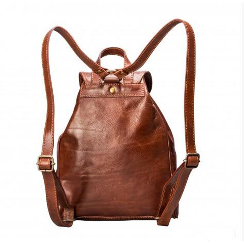 Luxury Leather Backpack