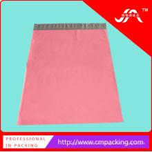 Bolsa de embalaje de plástico coloreada con sello adhesivo