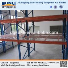 CE Q235B Lager schwere Stahl Net Lagerregal
