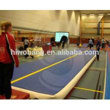 Colchão inflável de ginásio, gota costurar colchão de ar
