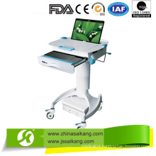 Durable Powder Paint Mobile Doctor Workstation Trolley