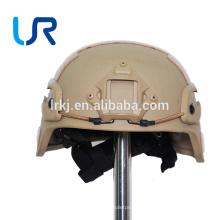 Antibullet PasgtTactical Kevlar Aramid NIJ IIIA Casco a prueba de balas / casco táctico