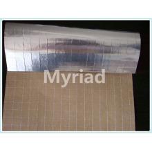 Aislamiento Aluminio de sellado de calor kraft scrim hoja con material de PE