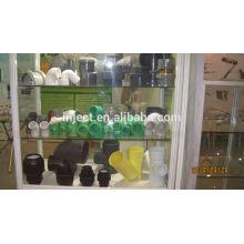 Máquina de moldeo por inyección de plástico precio de 380ton para tubería de PVC