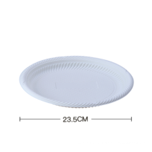 Biodegradable plates 9 inch Biodegradable Disposable Plastic Corn Starch Compostable Meat Tray