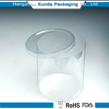 Clear Plastic Container for Candy Packaging with Lid