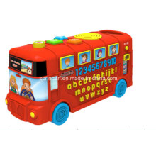 Musical Instrument Toy Bus Numbers and Alphabet