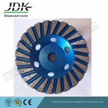 100mm Steel Body Diamond Turbo Cup Wheels