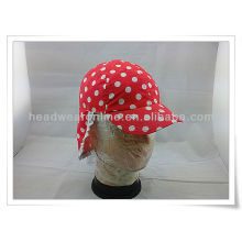 100% Organic Cotton Newest Multifunctional UV and Neck Protection kid Hat/children cap