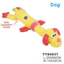 High strength factory supply interactive plush dog toy dog throwing toy