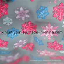 Beau tissu de rideau de polyester pour le vêtement / robe