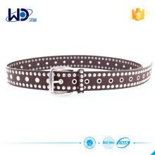 custom high quality pu belt for men