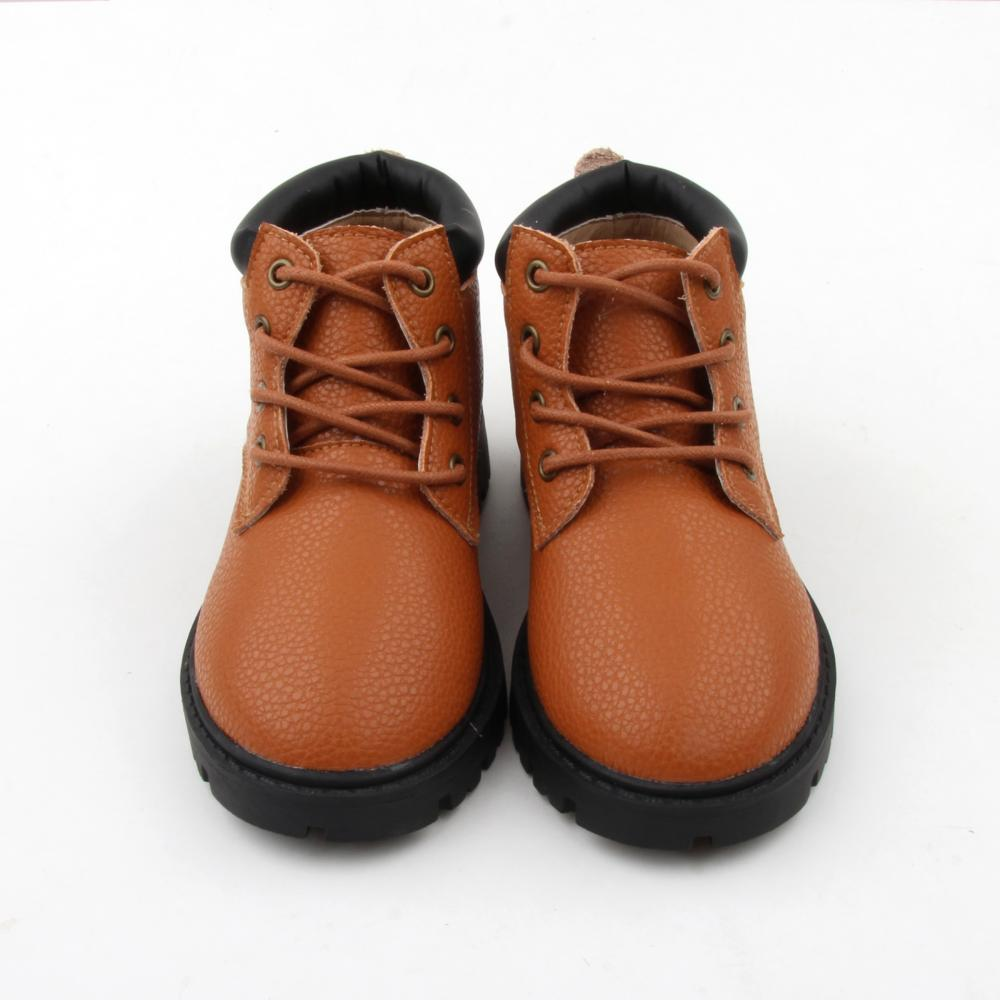 Oem Wholesale Baby Leather Martin Boots