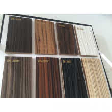 Panneaux UV en MDF laminés à bois pour portes d'armoires de cuisine (brillant)