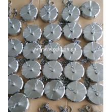 Écrou aveugle de qualité alimentaire en acier inoxydable avec chaîne par Wenzhou