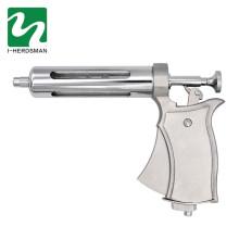 50CC Semi Automatic Veterinary Injection Syringe Metal Syringe