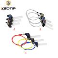 Poignée de poignée de papillon de moto en plastique universel CNC pour moto avec câble de papillon pour CBR GSXR CBF