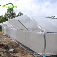 Super strength clear woven greenhouse film