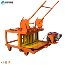 QTF40-3D cheap Portable Manual small hand operated concrete brick block maker making machine price list