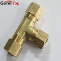GutenTop высокое качество Латунь Латунь обжимной фитинг тройник для PEX-Аль-PEX труб