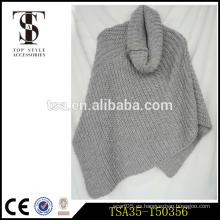 Chritsmas custume decoración multi coloreado bufanda bufanda patrones de tejer servicio de OEM