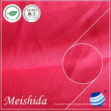 linen cotton blended solid fabric 11x11/51x47 bulk for linen dresses for women