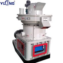 Máquina de moldeo de pellets de madera YULONG XGJ560