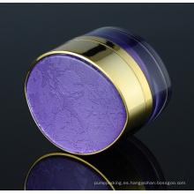 Jy220-01 30g Oval PMMA tarro cosmético