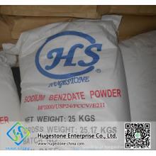 Benzoato de sódio do produto comestível