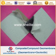 Geotextiles no tejidos calentados 400GSM del trazador de líneas Geomembrnae del HDPE de 2.0mm